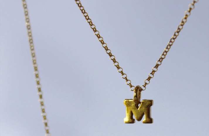 Unique Wedding Gifts for Bridesmaids Initial Jewelry Accessories 18