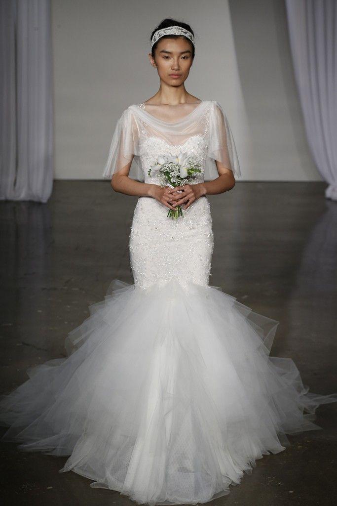 Fall 2013 wedding dress Marchesa bridal 15