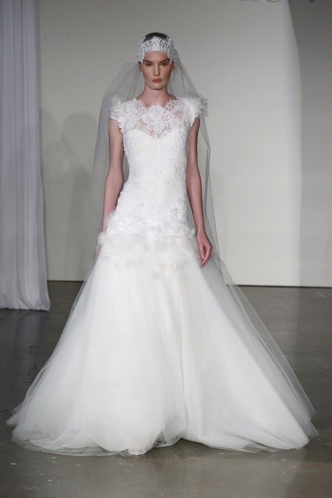 Fall 2013 wedding dress Marchesa bridal 2