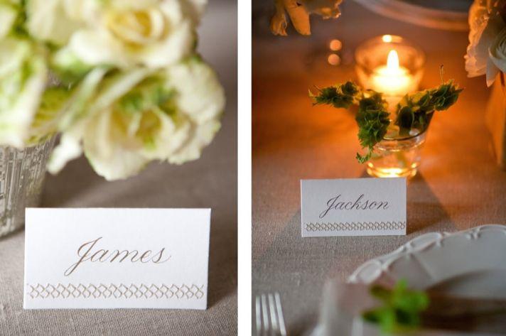 Creative Wedding Ideas Escort Cards at Reception 3 DIYs stiched4