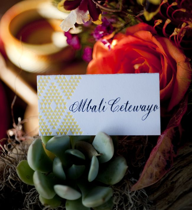 Creative Wedding Ideas Escort Cards at Reception 3 DIYs embossed