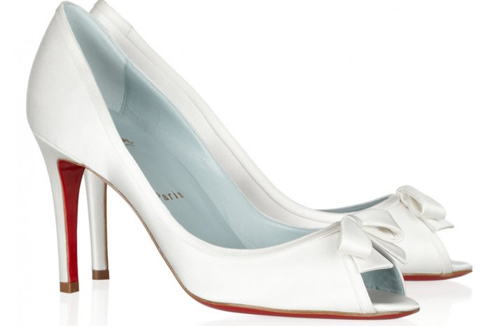 Peep Toe Wedding Shoes for Every Style Bride 4