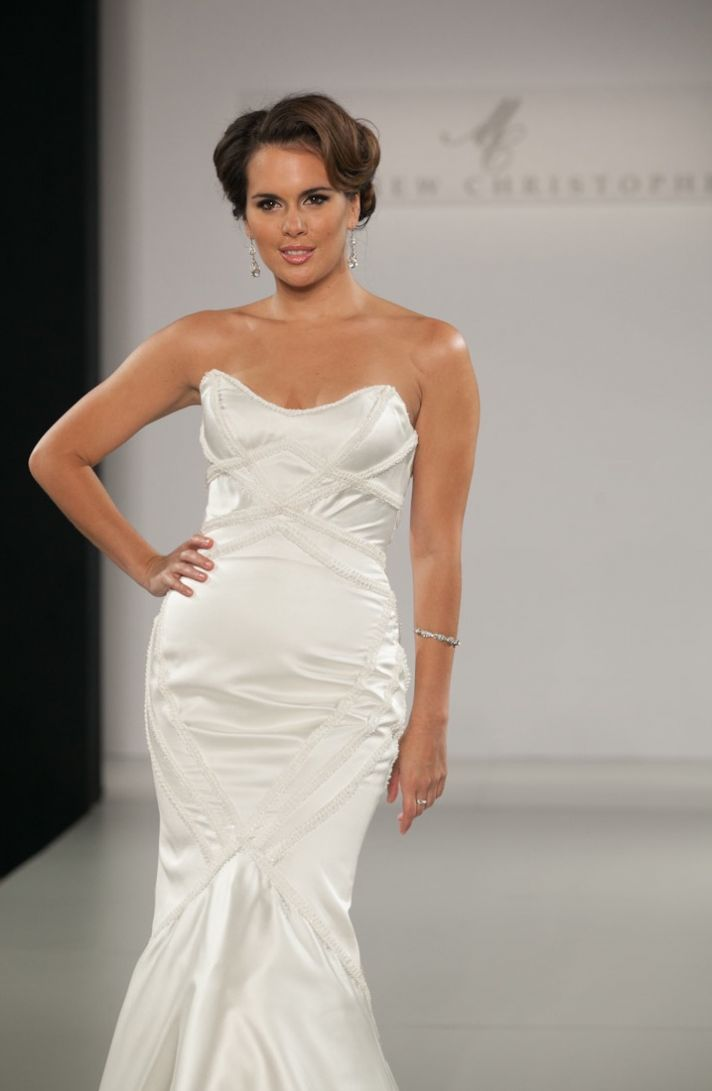 Fall 2013 wedding dress by Matthew Christopher bridal 11d