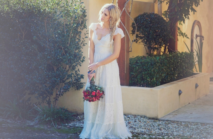Sleeved Wedding Dresses on Etsy bridal trends 2012 24