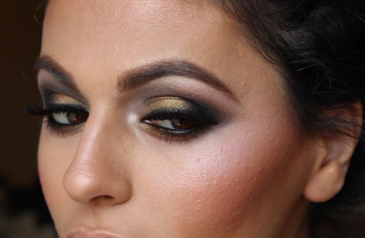 Bridal Beauty Ideas smokey eyes