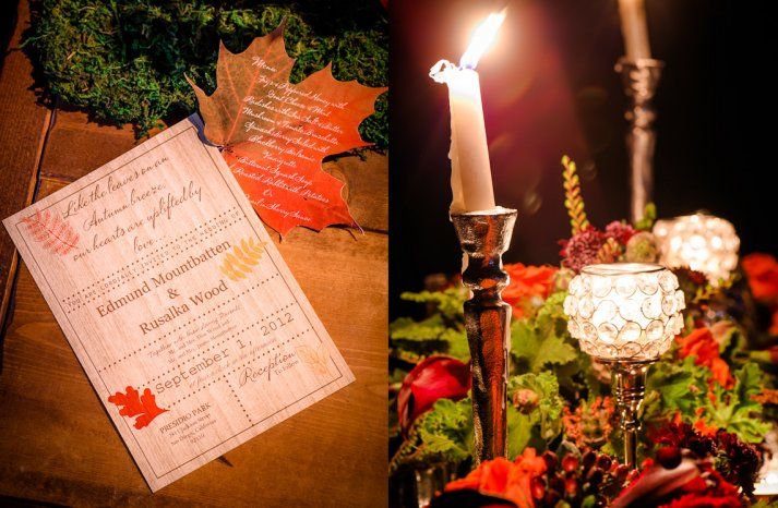 Rustic Wedding Inspiration for Fall Winter Weddings 10