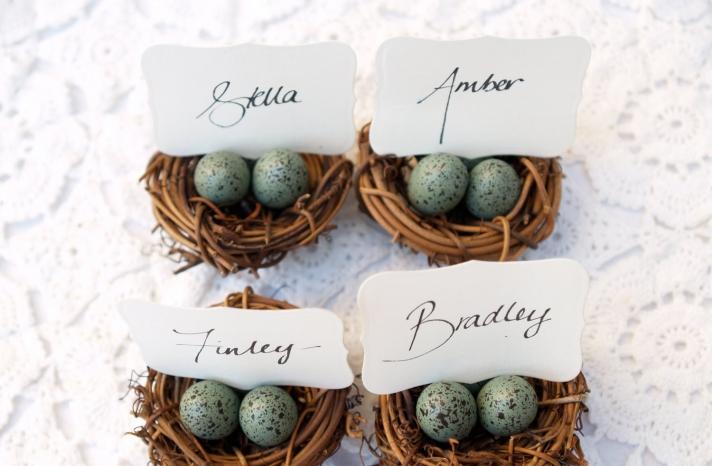 Rustic Wedding Ideas Woodland Weddings by Etsy escort card holders