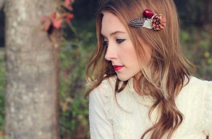 Rustic Wedding Ideas Woodland Weddings by Etsy hair pin