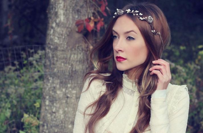 Rustic Wedding Ideas Woodland Weddings by Etsy headband