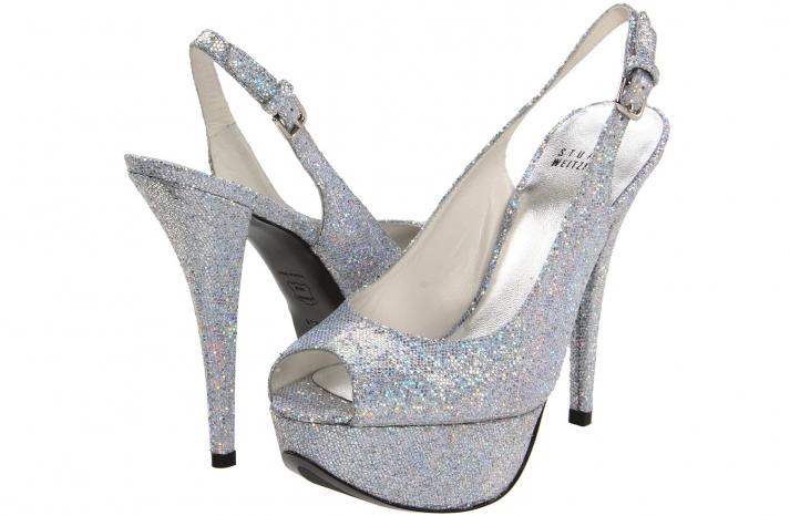 Wedding Accessories Inspiration Shimmery Bridal Heels 11