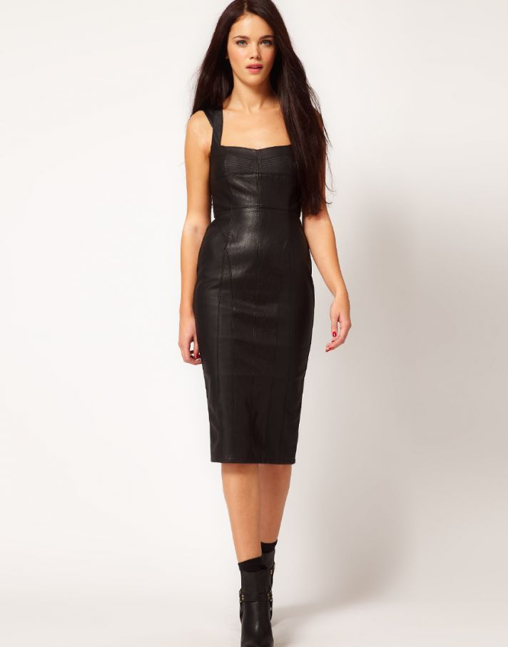 Stylish Bridesmaid Dresses from Asos 2013 Bridal Party Trends leather3
