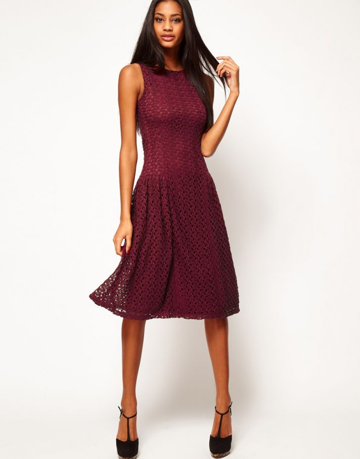 Stylish Bridesmaid Dresses from Asos 2013 Bridal Party Trends Crochet