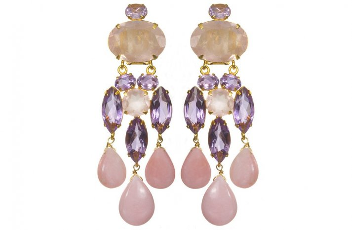 Romantic Wedding Accessories Chandelier Earrings