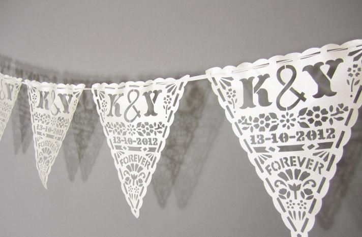 Handmade Wedding Finds Laser Cut banner