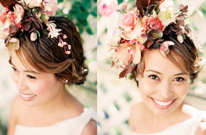 Bohemian Bride Soft Wedding Updo