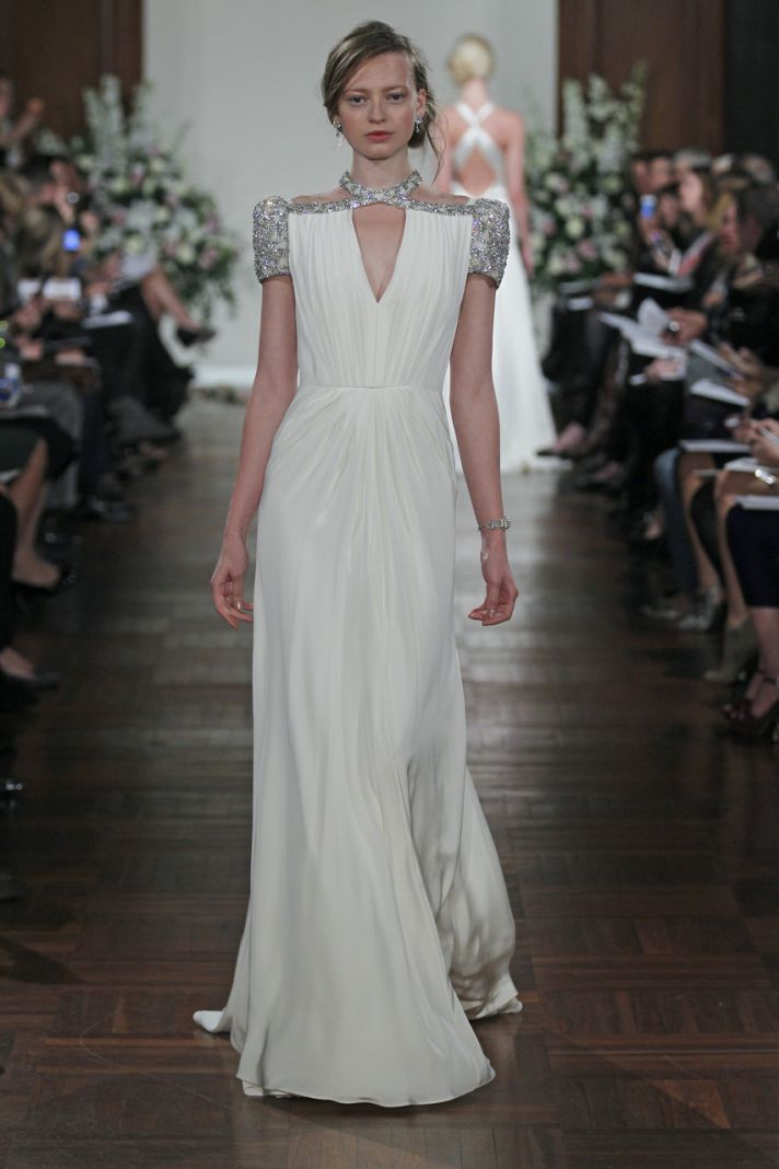 Endless glam breathtaking backs 15 new bridal stunners for Jenny packham wedding dresses 2013
