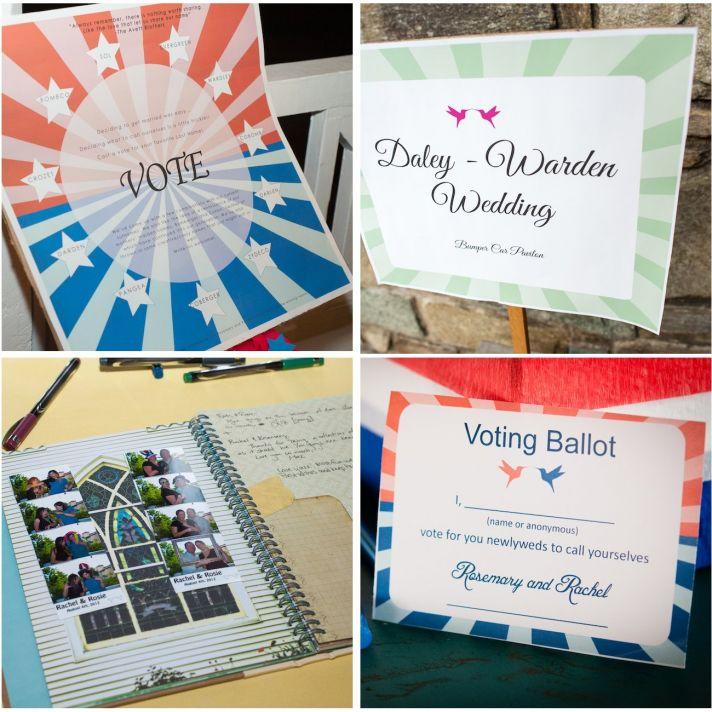 real wedding EKL daleywarden washington dc ballor decor stationery