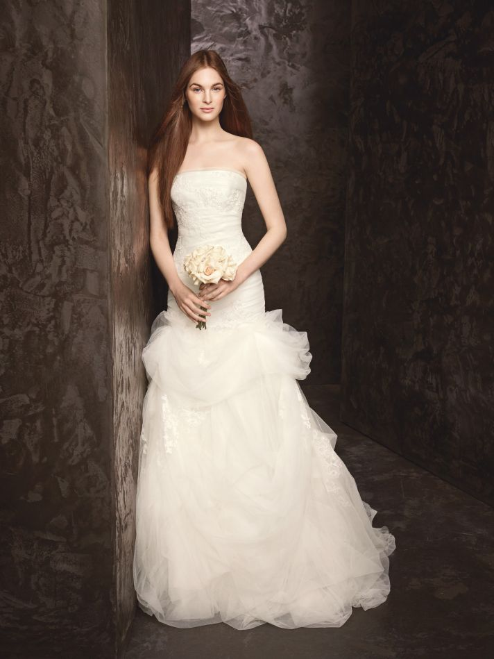 Spring 2013 Wedding Dress White by Vera Wang Bridal Gowns Style VW351166