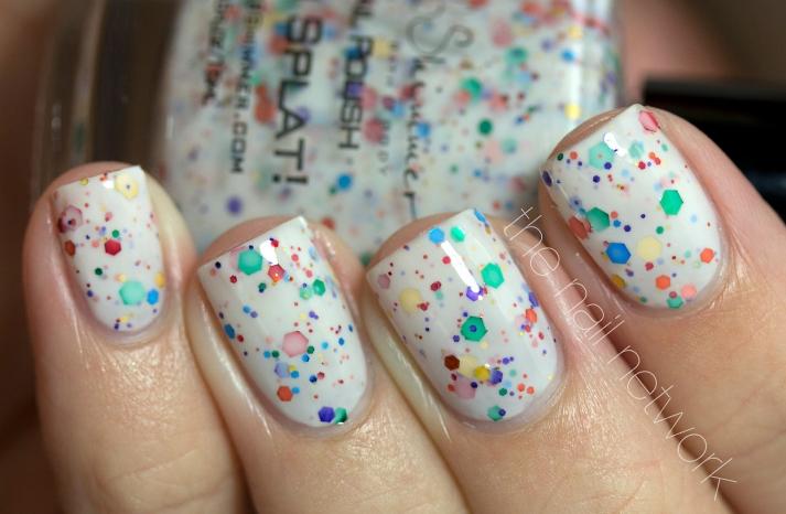 Confetti Nail Polish for Festive Brides