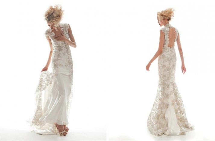 Elizabeth Fillmore Wedding Dress Spring 2013 Bridal Arabelle