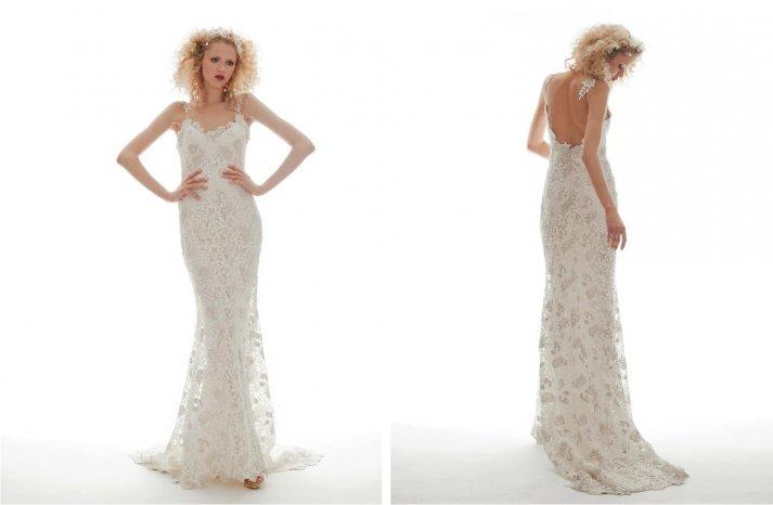 Elizabeth Fillmore Wedding Dress Spring 2013 Bridal Flora