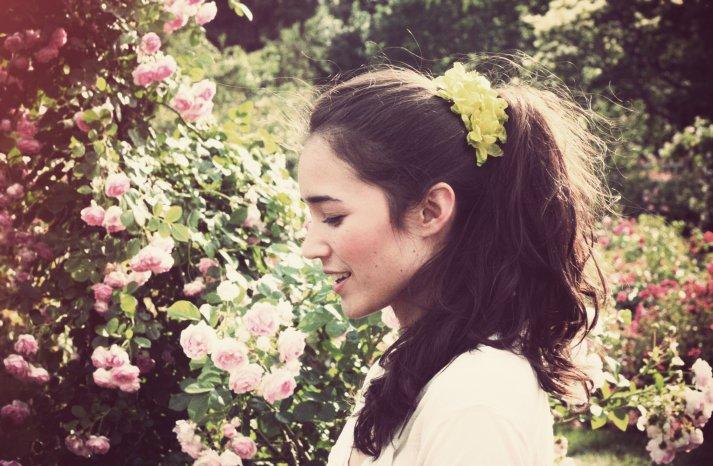 Floral Wedding Hair Clip for DIY Brides