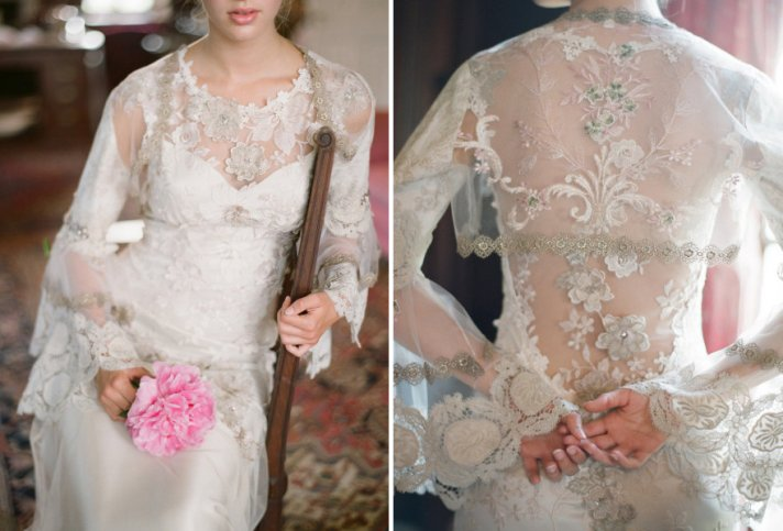 2012 Wedding Trends We Loved Textured Lace