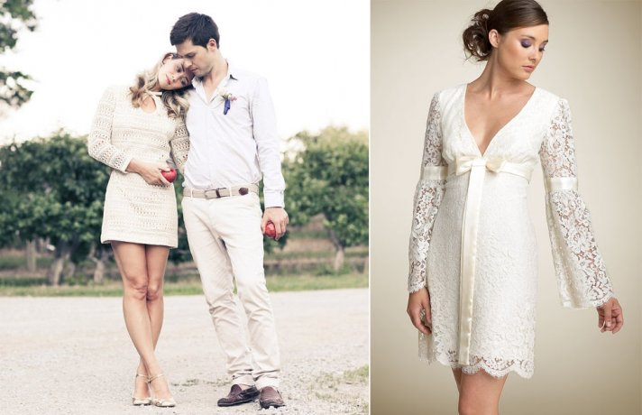 1960s Bridal Style LWD for the Wedding Reception lace
