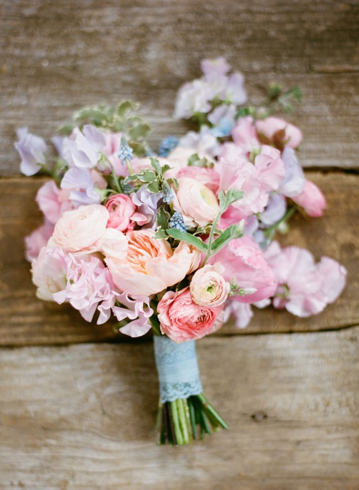 A wedding florist id fly across the world for my i dos stunning romantic bridal bouquet pastel pink purple peach green mightylinksfo