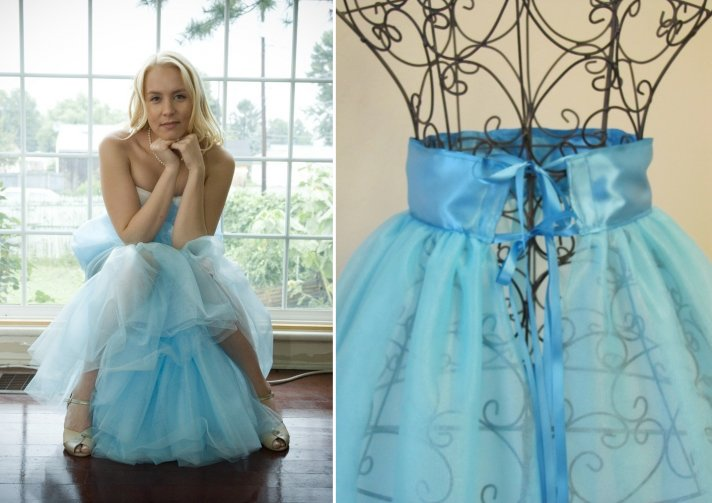 Powder Blue Bridal Petticoat