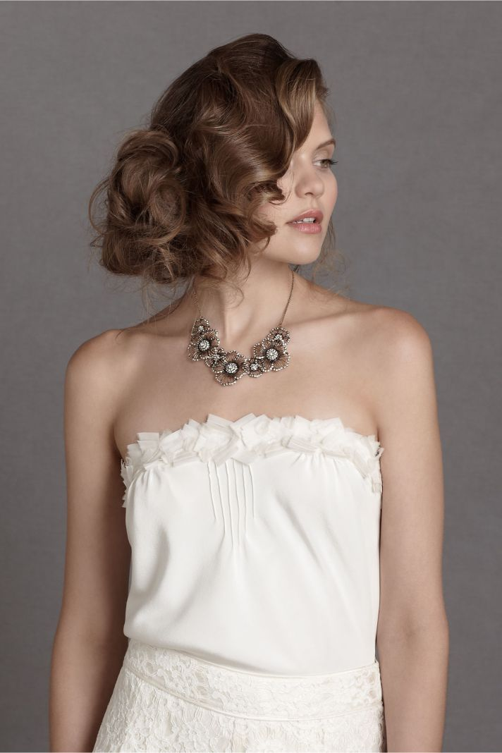 Sweet Bridal Top by BHLDN