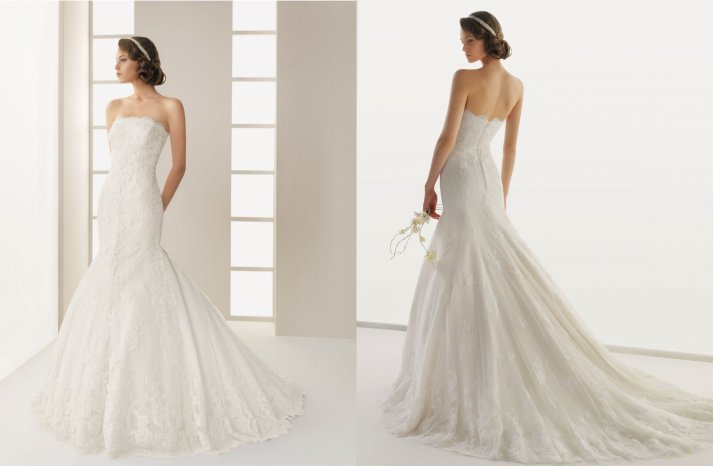 Two by Rosa Clara 2013 Wedding Dress Dack
