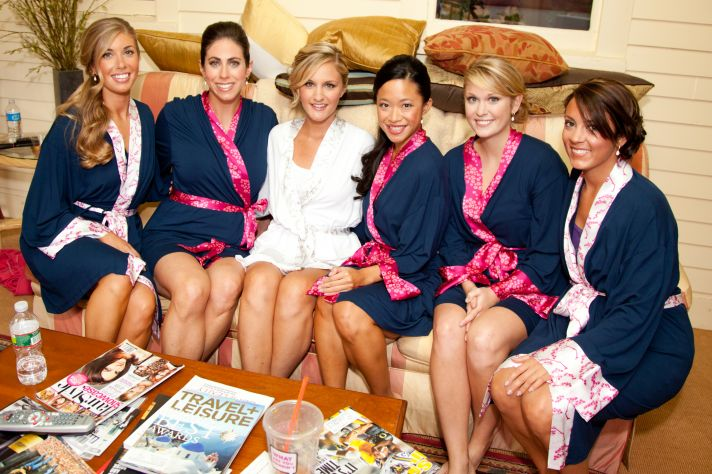 Eco Friendly Robes for Bride and Bridesmaids 2