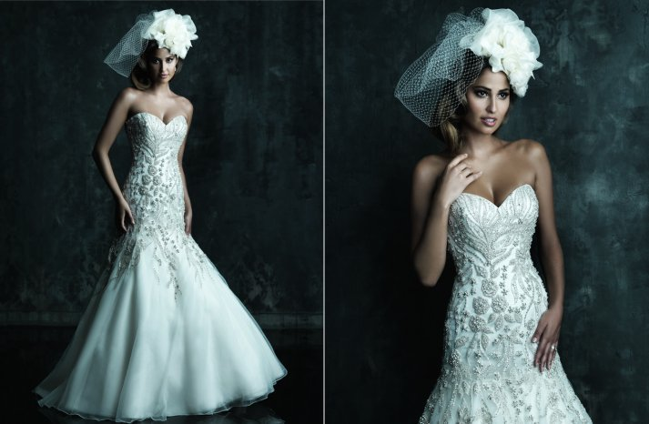 2013 Wedding Dress by Allure Couture Bridals C241