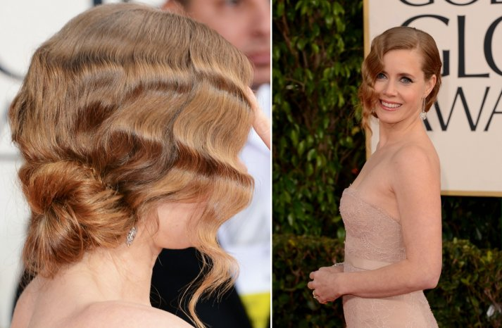 Amy Adams Retro Bridal Updo