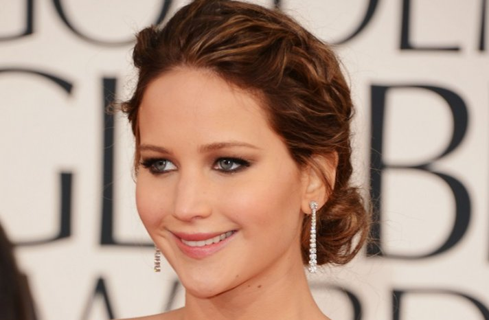Wedding Hair Inspiration from 2013 Golden Globes Red Carpet J Law