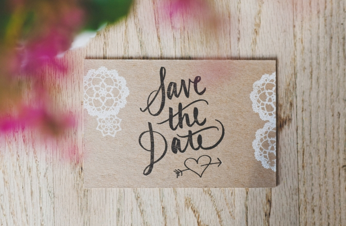 Rustic Romance Wedding Save the Date