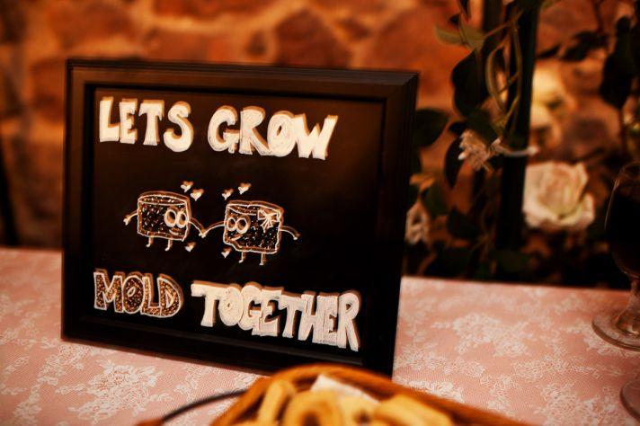 Cheese Lovers wedding reception spread