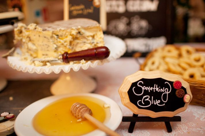 Cheese Lovers wedding reception spread