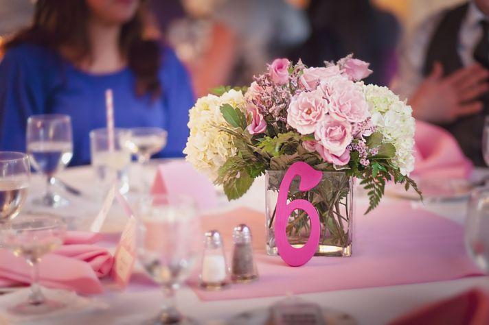 Vintage Pink Wedding in Connecticut