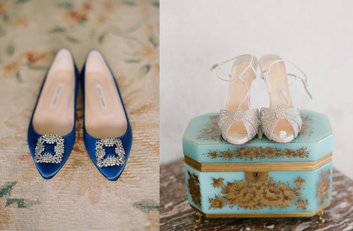 Bridal Shoes and Wedding Photography 1
