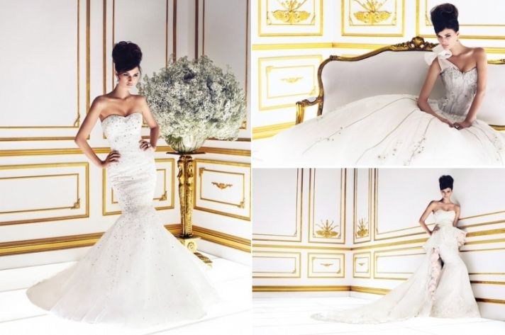 2013 Ines di Santo Wedding Gowns