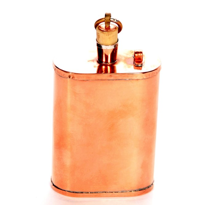 Copper Whiskey Flask