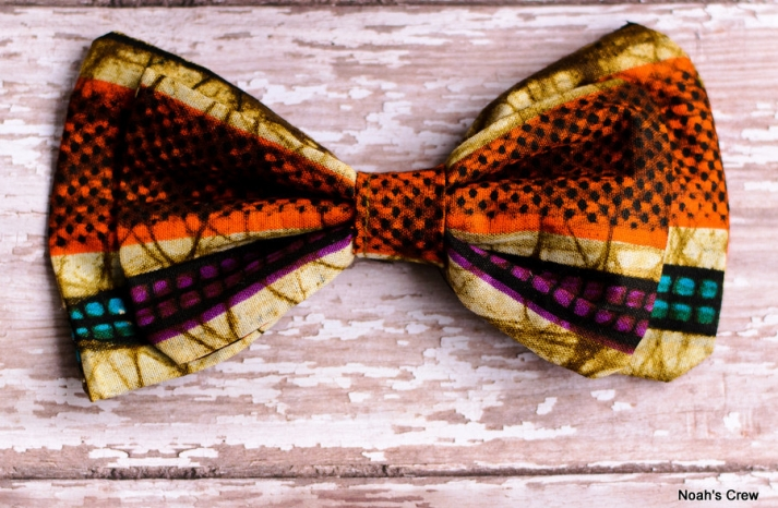 Tribal Bow Tie for Grooms