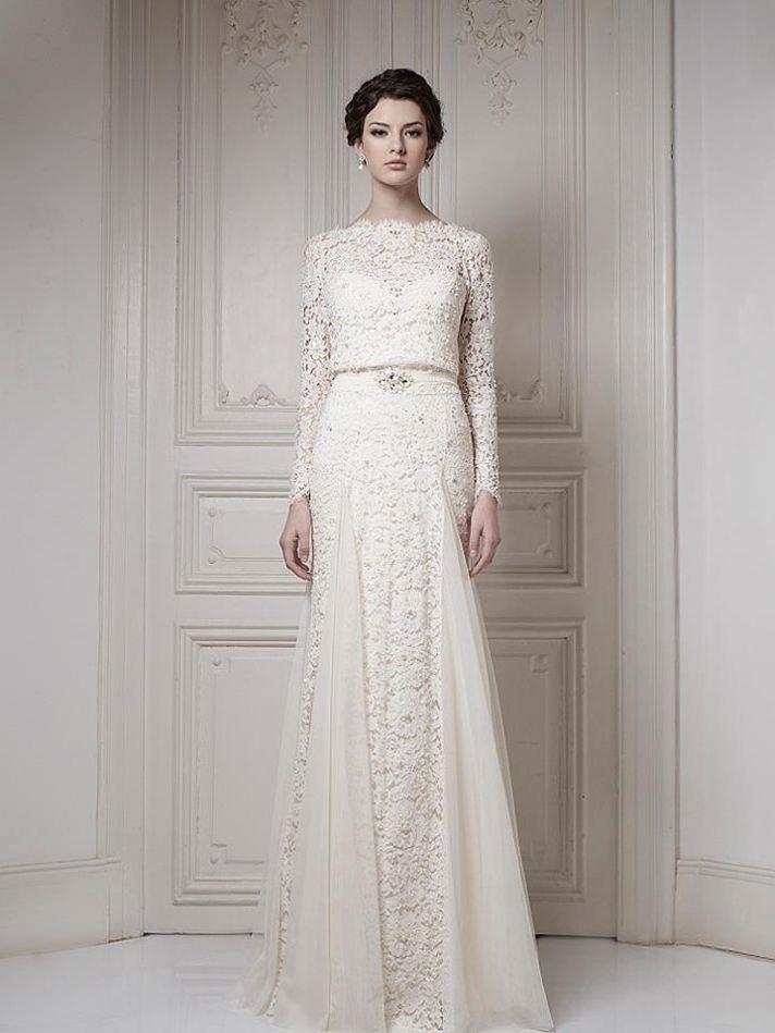 20 breathtaking 2013 bridal gowns by ersa atelier onewed for Ersa atelier wedding dress
