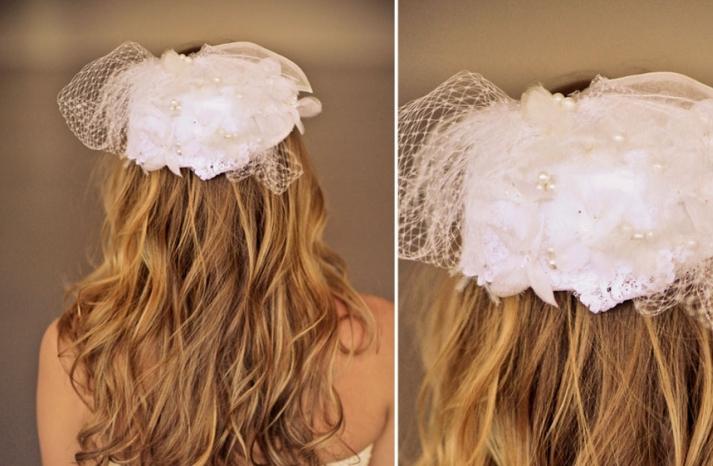 Romantic wedding hair accessories by Alice Padrul 7