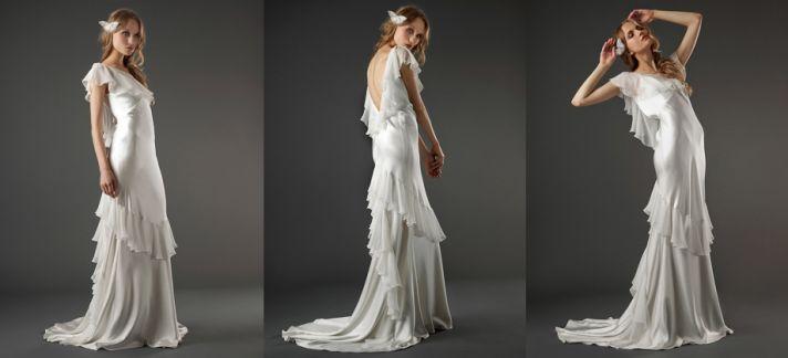 elizabeth fillmore open back wedding dress