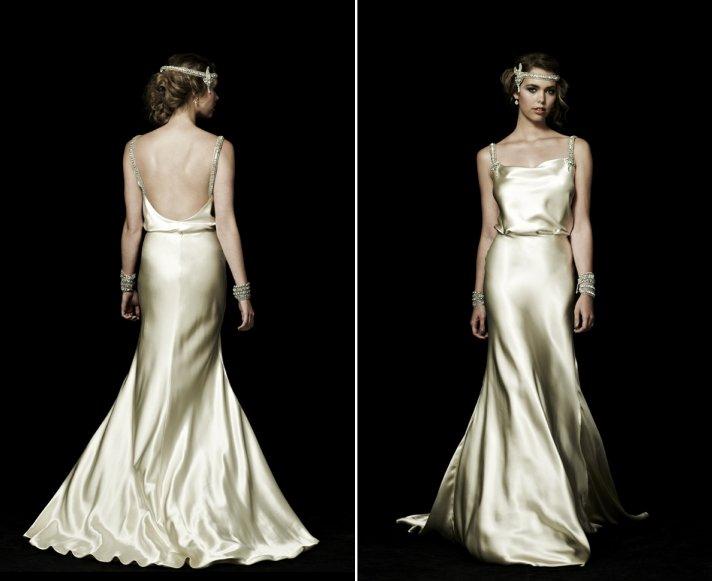 backless wedding dresses for vintage brides 3