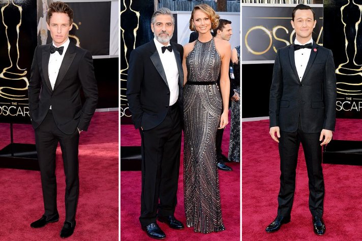 2013 Oscars Best Tuxedos for Grooms