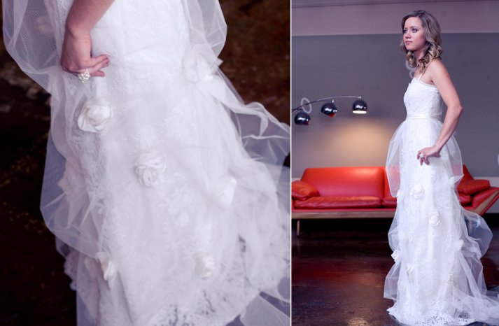 Lace wedding gowns handmade bridal 5